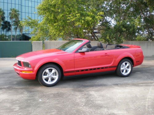 Clearwater Convertible Rental