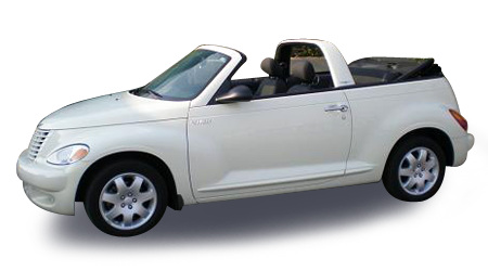 PT Cruiser Convertible Rental